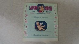 Vieux Papier Savon Rodoll, P.Giraud & Cie, Lyon, étiquette Ancienne - Alte Papiere