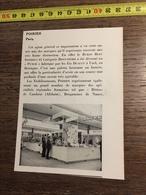 ANNEES 60 PUBLICITE POIRIER PARIS BISCUITERIE ETS DUAULT A+A UZEL BETISES DE CAMBRAI AFCHAIN - Alte Papiere