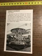 ANNEES 60 PUBLICITE STAND EXPOSITION PIERROT GOURMAND IVRY MANEGE - Alte Papiere
