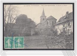 7392 AK / PC /CPA / LAROQUEVIEILLE / LE ROCHER ET L EGLISE - Frankrijk