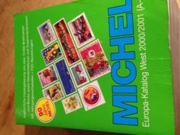 MICHEL-Europa-Katalog WEST.  2000/2001 (A-K) - Postzegelcatalogus