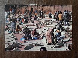 L21/34 BURKINA FASO Haute Volta Banfora En Saison Seche Sur Le Marche Le Coin Aux Nattes Decorees - Burkina Faso