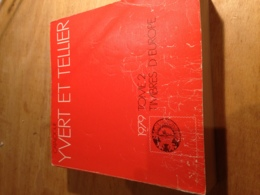 Yvert Et Tellier 1979 Tome 2 - Timbres D'Europe - Andere