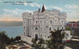 CASTLE PATERNO, WASHINGTON HILLS. NEW YORK CITY. H FINKELSTEIN  SON. CPA CIRCA 1940s - BLEUP - Places & Squares