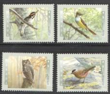 1998  Birds Of Canada  Woodpecker, Flycatcher, Owl, Finch Sc 1710-3  MNH - 1952-.... Reinado De Elizabeth II