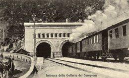 ITALIA IMBOCCO DELLA GALLERIA DEL SEMPIONE - Ferrocarril