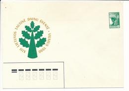Mi U 3 I Mint Stationery Cover / National Song Festival Vilnius / Freedom Angel - 6 July 1990 - Lithuania