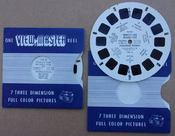 EXPO 58 - View-Master - 2 Disques World's Fair Brussels 1958 - Reel One Et 1991B - Autres Collections