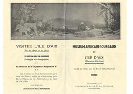 L'ile D'Aix - Affiche - Museum Africain Gourgaud - Manifesti