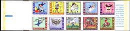 Sweden 1987 Birthday Astrid Lindgren Pippi And Stories Stamp Rabat Booklet MNH - Contes, Fables & Légendes
