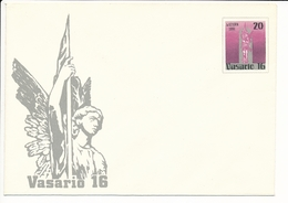 Mi U 12 Mint Stationery Cover / Act Of Reinstating Independence Of Lithuania - 16 February 1991 - Lithuania