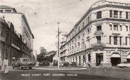 PRINCE STREET-FORT-COLOMBO-CEYLON - Sri Lanka (Ceylon)