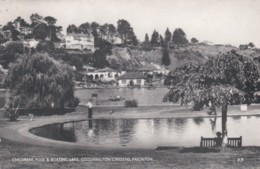 PAIGNTON - CHLIDRENS POOL AND BOATING LAKE , GOODRINGTON GARDENS - Paignton