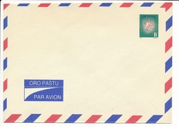 Mi LU 1 Mint Stationery Airmail Cover / Vytis Definitive NVI No Value Indication - 1 May 1993 - Lithuania