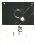Portugal 2019 - 100 Years Einstein's Eclipse S/S MNH - 1910-... République