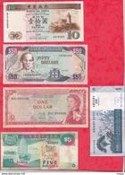 Iles Du Monde 10 Billets Dans L 'état Lot N °2 - Banknotes