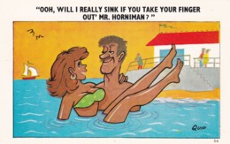 WILL I REALLY SINK IF YOU PULL YOUR FINGER OUT - Comics