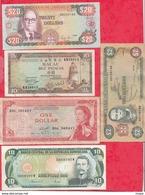 Iles Du Monde 10 Billets Dans L 'état Lot N °3 - Banknotes