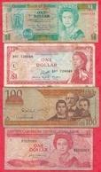 Iles Du Monde 10 Billets état -état Moyen Et Usagé Lot N °5 - Banknotes