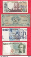 Italie 10 Billets 4 En UNC 3 Dans L 'état -3 état Moyen (2000 Lires Du 24/10/1983 UNC FORTE COTE) - Unclassified