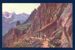 74. Chamonix. Le Chapeau Et Les Aiguilles Rouges. Carte Postale Tuck. 1910 - Chamonix-Mont-Blanc