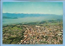 Saint-Gaudens (31) Vue Générale Aérienne Avec Au Fond La Chaîne Des Pyrénées 2scans 10-09-1980 (Fleury-sur-Andelle) - Saint Gaudens