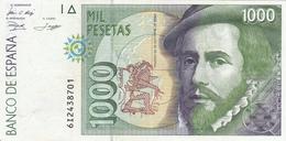 Espana Billete De 1000 Pesetas    Muy Buena - España
