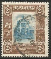 524 Jamaica Memorial Admiral Rodney 2sh (JAM-116) - Jamaica (...-1961)