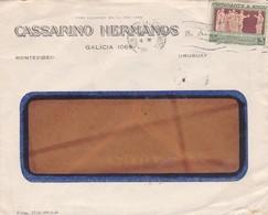 CASSARINO HERMANOS - COMMERCIAL ENVELOPE CIRCULEE CIRCA 1940s URUGUAY - BLEUP - Uruguay