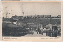 Lithuania Lietuva Germany 1912 Deutsch-russischen Landesgrenze, Railway Railroad Rail Train Kibarty Eydtkuhnen Wirballen - Lithuania