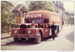 Reproduction D'une Photographie D'un Camion Pour La Marque Picon Pikina - Repro's
