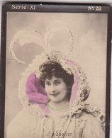SAULIER. HABANILLOS LA PLATA. COLORISE. CARD TARJETA COLECCIONABLE TABACO. CIRCA 1915 SIZE 4.5x5.5cm - BLEUP - Berühmtheiten