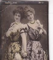HENGLER. HABANILLOS LA PLATA. COLORISE. CARD TARJETA COLECCIONABLE TABACO. CIRCA 1915 SIZE 4.5x5.5cm - BLEUP - Berühmtheiten