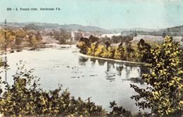 Sherbrooke Québec - St. Francis River - Saint-François - Pinsonneault Frères No. 826 - 2 Scans - Sherbrooke