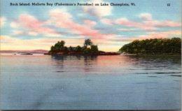 Vermont Lake Champlain Rock Island Malletts Bay - United States