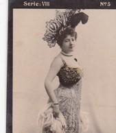 MEALY. HABANILLOS LA PLATA. COLORISE. CARD TARJETA COLECCIONABLE TABACO. CIRCA 1915 SIZE 4.5x5.5cm - BLEUP - Berühmtheiten