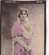 RIOTON. HABANILLOS LA PLATA. COLORISE. CARD TARJETA COLECCIONABLE TABACO. CIRCA 1915 SIZE 4.5x5.5cm - BLEUP - Berühmtheiten