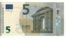 "5 EURO  ""Germany ""  DRAGHI    W 002 A1       WA4220157781  /  FDS - UNC - 5 Euro"