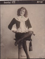 TERISS. HABANILLOS LA PLATA. COLORISE. CARD TARJETA COLECCIONABLE TABACO. CIRCA 1915 SIZE 4.5x5.5cm - BLEUP - Berühmtheiten