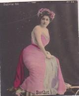 BERTHET. COLORISE. CARD TARJETA COLECCIONABLE TABACO. CIRCA 1915 SIZE 4.5x5.5cm - BLEUP - Berühmtheiten