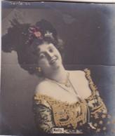 NELLY. COLORISE. CARD TARJETA COLECCIONABLE TABACO. CIRCA 1915 SIZE 4.5x5.5cm - BLEUP - Berühmtheiten