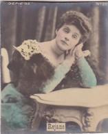 REJANE. COLORISE. CARD TARJETA COLECCIONABLE TABACO. CIRCA 1915 SIZE 4.5x5.5cm - BLEUP - Personalità