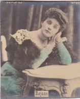 REJANE. COLORISE. CARD TARJETA COLECCIONABLE TABACO. CIRCA 1915 SIZE 4.5x5.5cm - BLEUP - Berühmtheiten