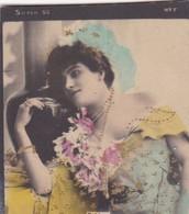 DEBIAN. COLORISE. CARD TARJETA COLECCIONABLE TABACO. CIRCA 1915 SIZE 4.5x5.5cm - BLEUP - Berühmtheiten