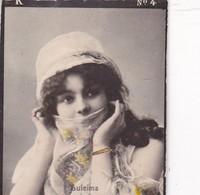 SULEIMA. COLORISE. CARD TARJETA COLECCIONABLE TABACO. CIRCA 1915 SIZE 4.5x5.5cm - BLEUP - Célébrités