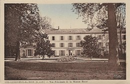91 Sainte Geneviève Des Bois Vue Principale De La Maison Russe (2 Scans) - Sainte Genevieve Des Bois