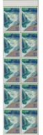 Pane Of 10 Japan 1994  GUNMA Prefecture Stamps Waterfalls 群馬縣 - Water