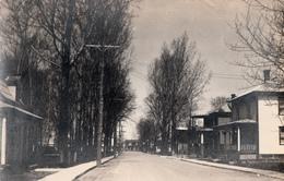 Real Photo Véritable - Probablement Une Rue De Sherbrooke Québec - 1945-1949 - 2 Scans - Sherbrooke