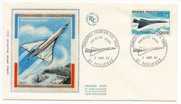 FDC France 1969 - Concorde 1er Vol  - YT 43 Poste Aérienne - 31 Toulouse - FDC