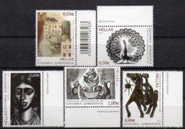 2011 Greek Engravers Set 5 Values MNH - Greece